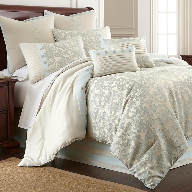 Update Your Bedroom With Selerina 8 Piece Microfiber Comforter Set