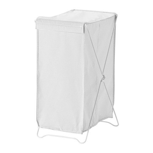 Us Furniture And Home Furnishings White Laundry Basket