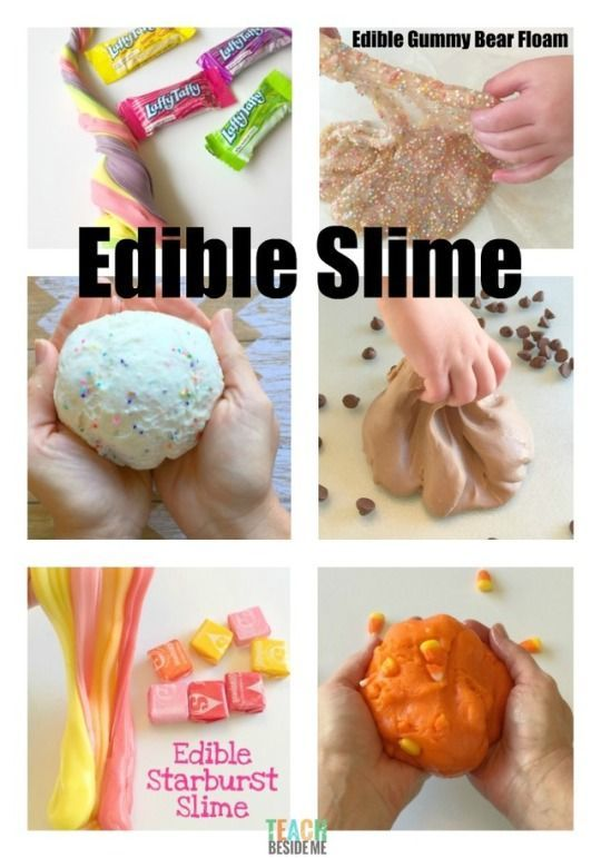 10 BEST Edible Slime Recipes #edibleslime 10 BEST Edible Slime Recipes: Want to know ow to make Edible Slime? This is THE spot! Get the 10 (now 11) best edible slime recipes on the web! You will love making them with your kids. #edibleslime