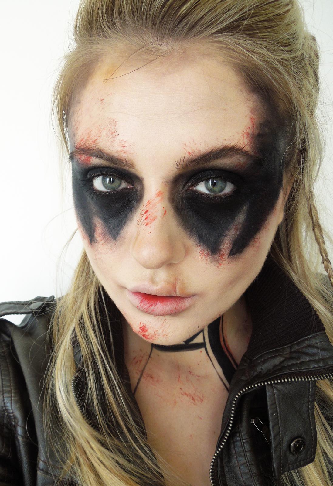 Halloween Makeup Tutorial Post Apocalyptic Warrior Woman