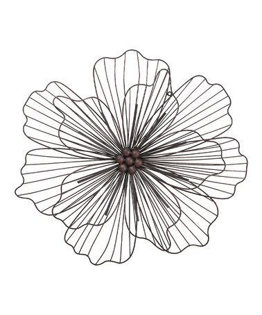 Another Great Find On Zulily 25 5 39 39 Wall Flower Accent