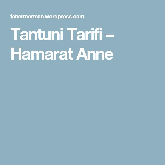 Tantuni Tarifi – Hamarat Anne
