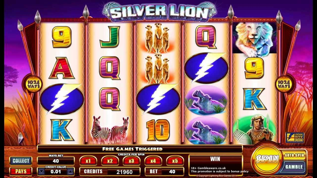 Silver Lion Casino bonus, Slot, Treasure island