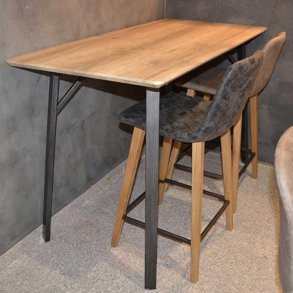 Küchenbartisch in Eiche Schwarz Factory Design Jetzt bestellen unter ...