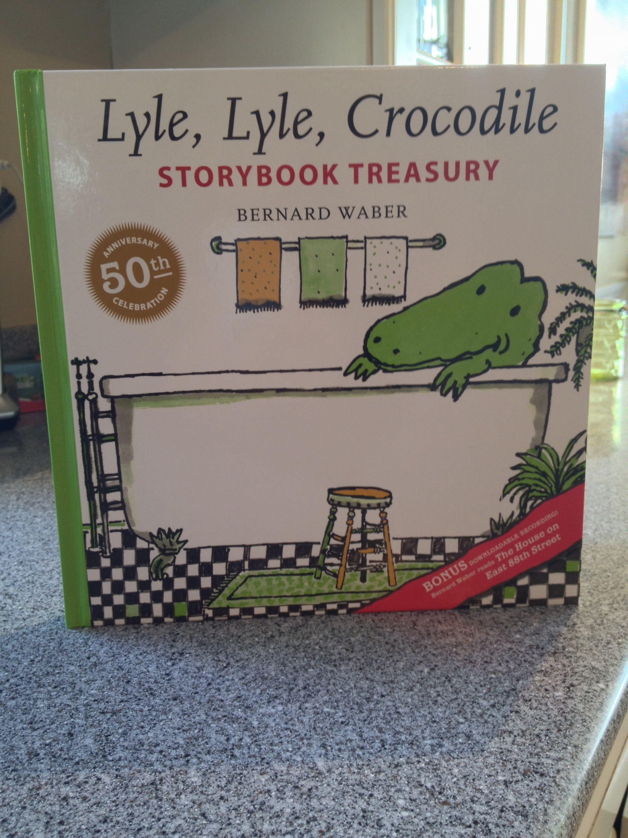 Guest Book - Lyle, Lyle, Crocodile by Bernard Waber