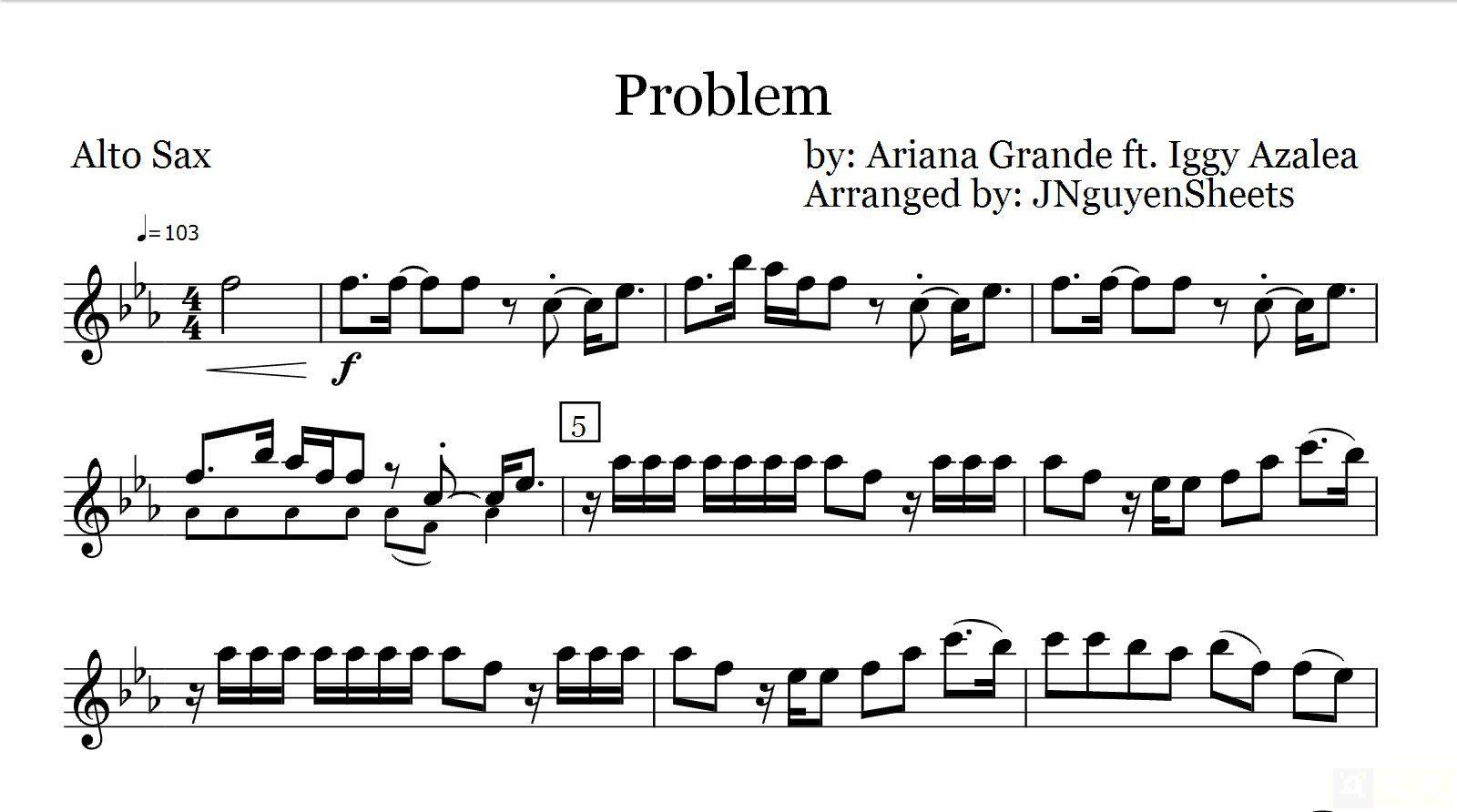 Pin On Saxophone Sheet Music