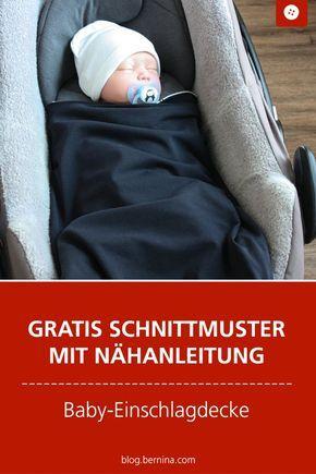 Inspirations pour tout ce qui concerne les bébés et les tout-petits – en déplacement avec une couverture (avec motif) »Blog BERNINA   – Sewing