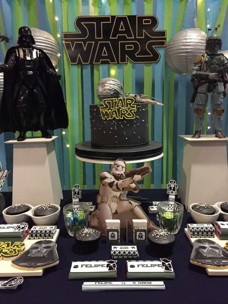 Amazing Star Wars birthday party! See more party planning