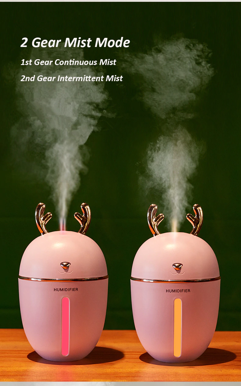 Perfect Air Humidifier and Essential Oil Diffuser 450ml