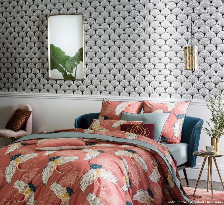 perfect motif japonais seigaiha luimprim star de lut couette with housse couette japon. Black Bedroom Furniture Sets. Home Design Ideas