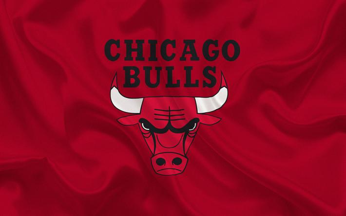 Download Wallpapers Chicago Bulls Nba Usa Basketball Basketball Club Chicago Bulls Emblem Red S Chicago Bulls Chicago Bulls Logo Chicago Bulls Basketball
