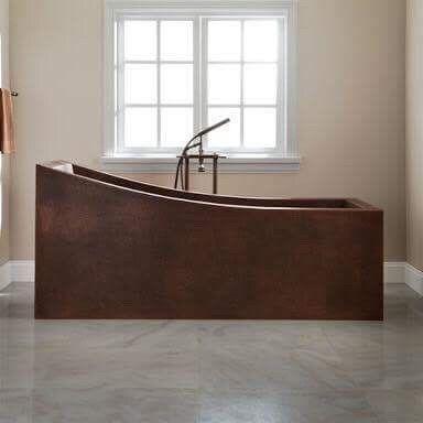 Waschbecken Badewannen Design Badewanne Kupfer Wanne