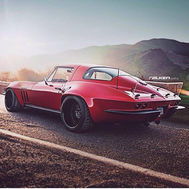 Bdhobaughs Corvette Is The True Definition Of A Race Car - Sports cars definition