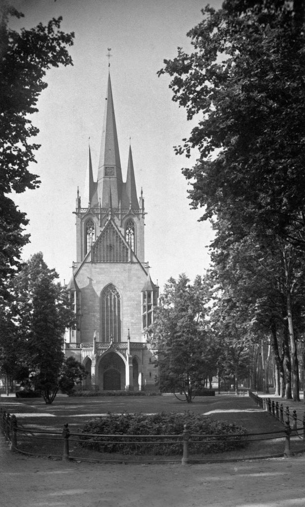 Köln Südstadt, ca 1925, Paulskirche