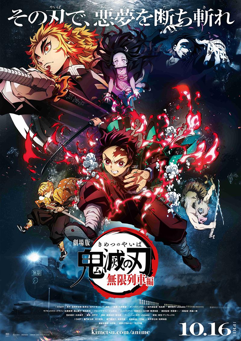 La Pelicula Kimetsu No Yaiba Mugen Ressha Hen Estrena Segundo Trailer Tips Anime Anime Anime Demon Demon