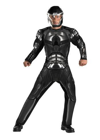 Men's Costume: Duke Classic Muscle-Extra Large