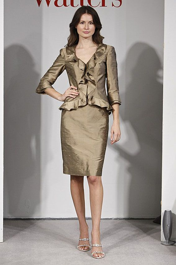 Watters Collection 20 6499 Cashmere Dupioni Silk 2 Piece