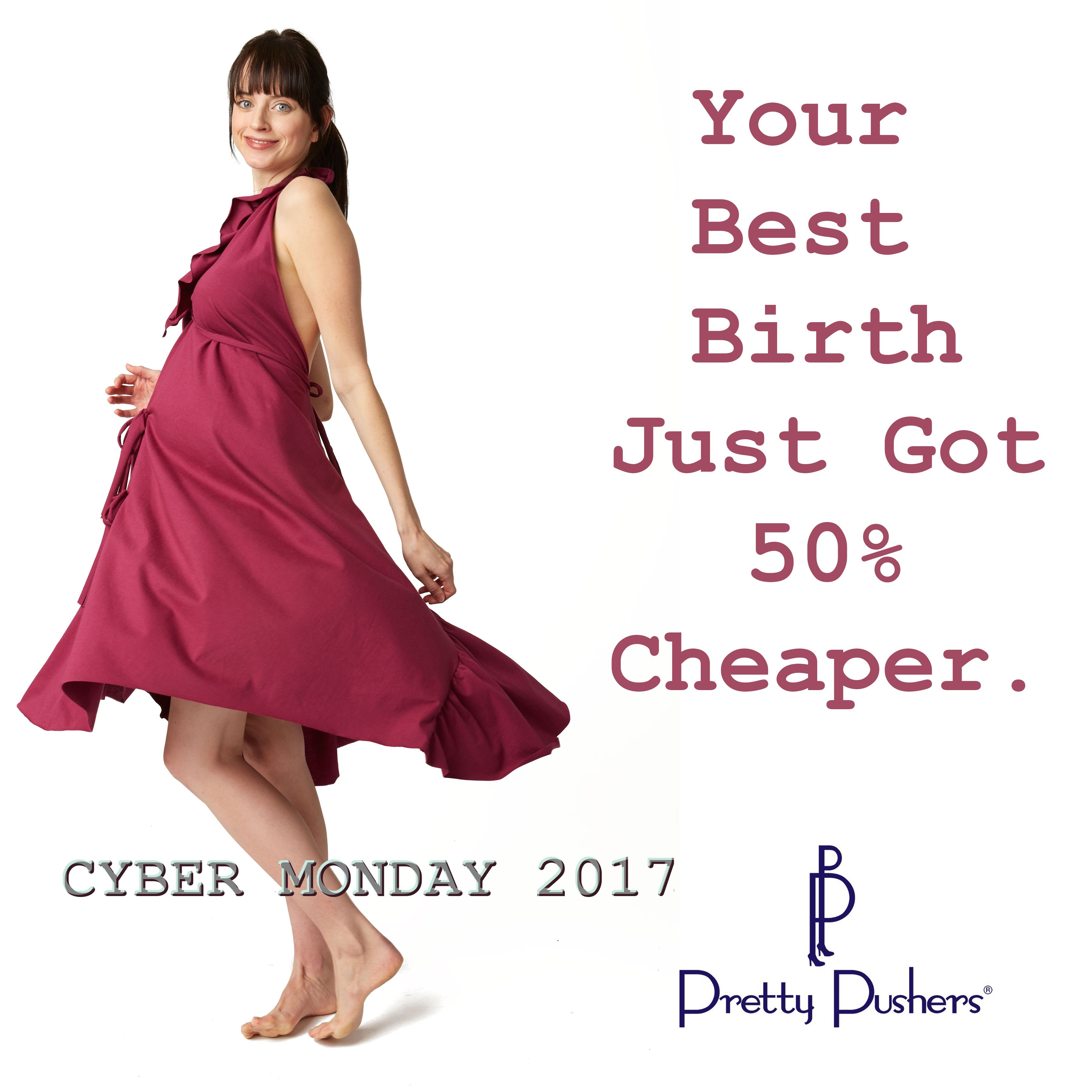 Cyber Monday is on at Pretty Pushers! If you are preparing for birth ...