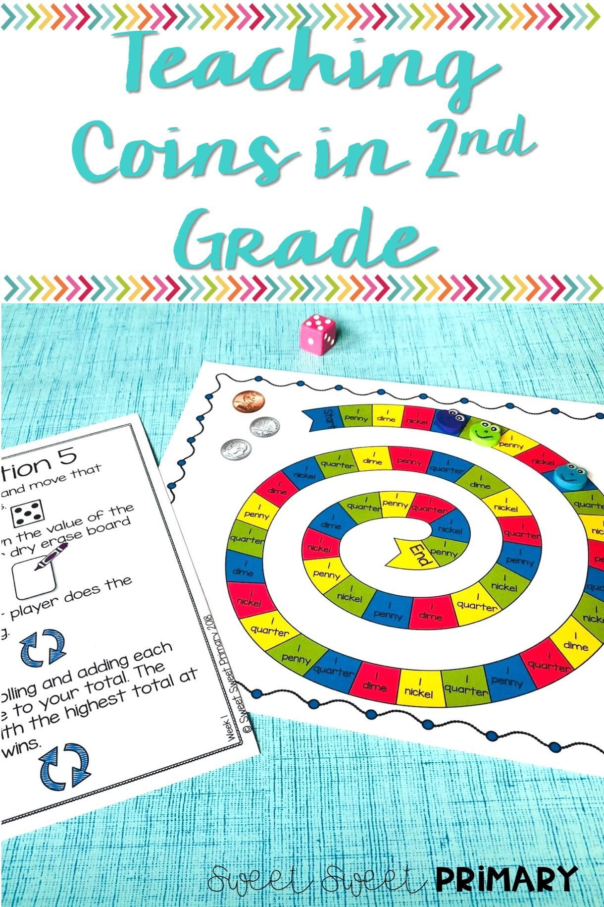 2nd Grade Math Unit: Coins | Math | Pinterest | Fun math, Word ...