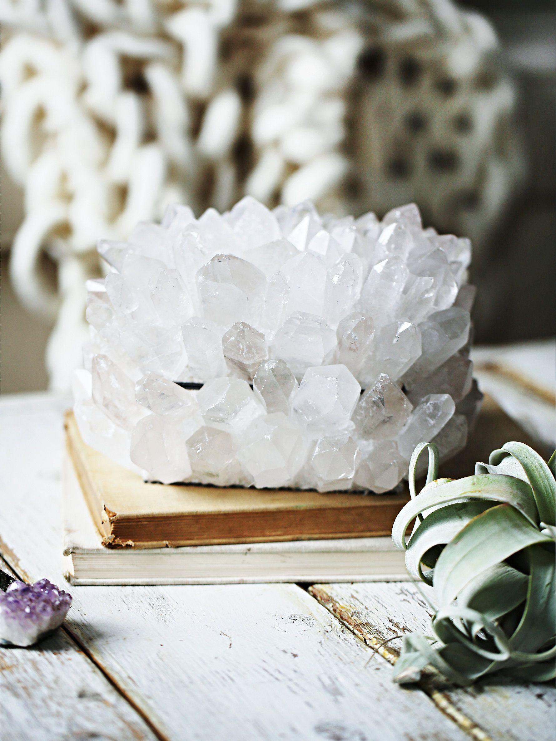 Quartz Crystal Jewelry Box //