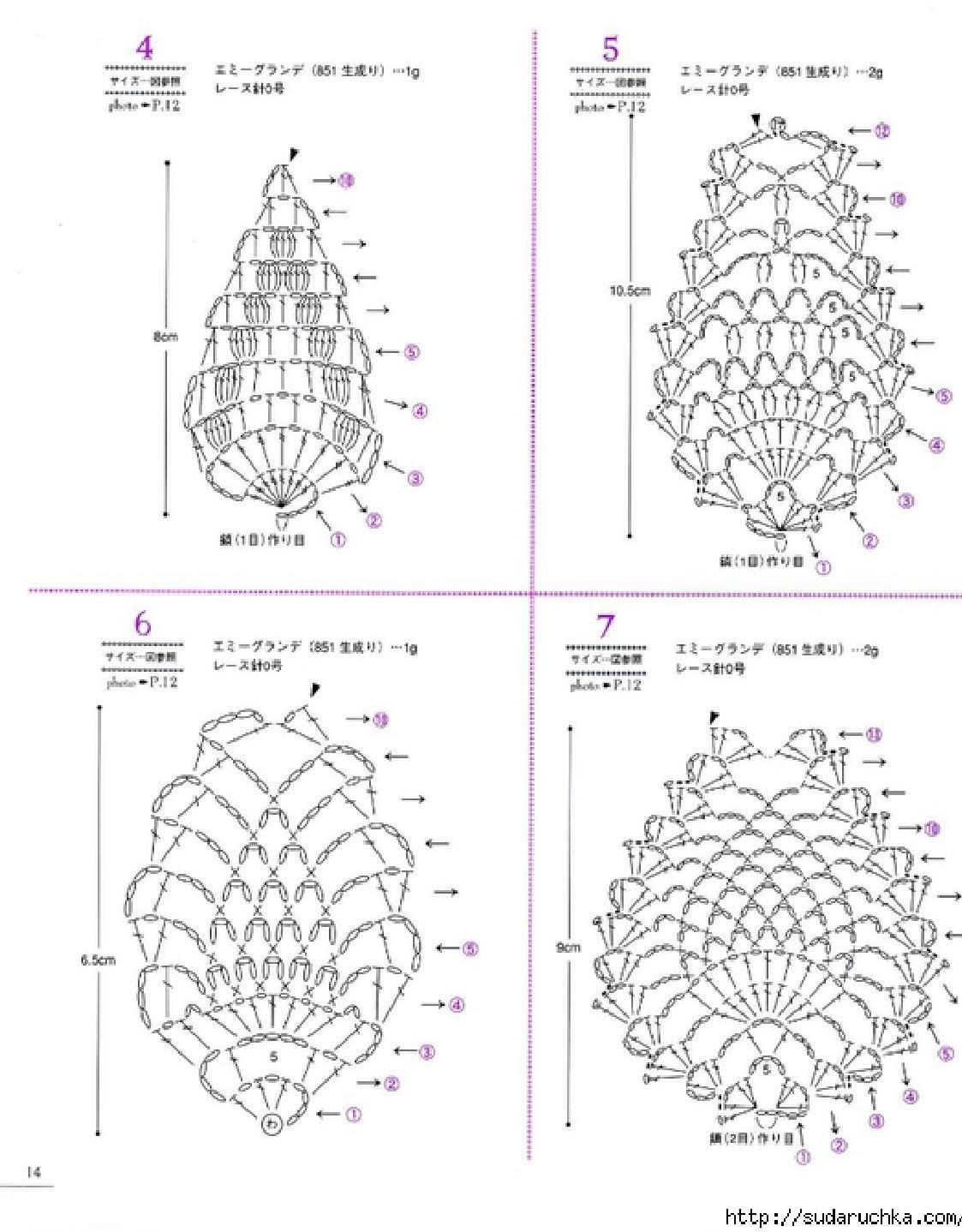 Asahi Original Lacework Pineapple Pattern Clippedonissuu