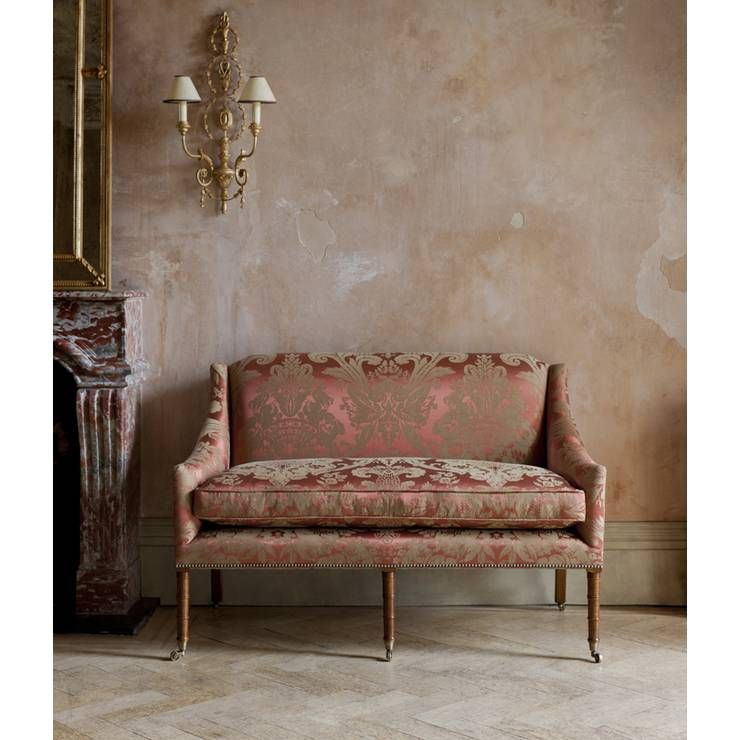Alexandra sofa from Beaumont & Fletcher. An elegant occasional sofa that will suit a classic or contemporary setting.