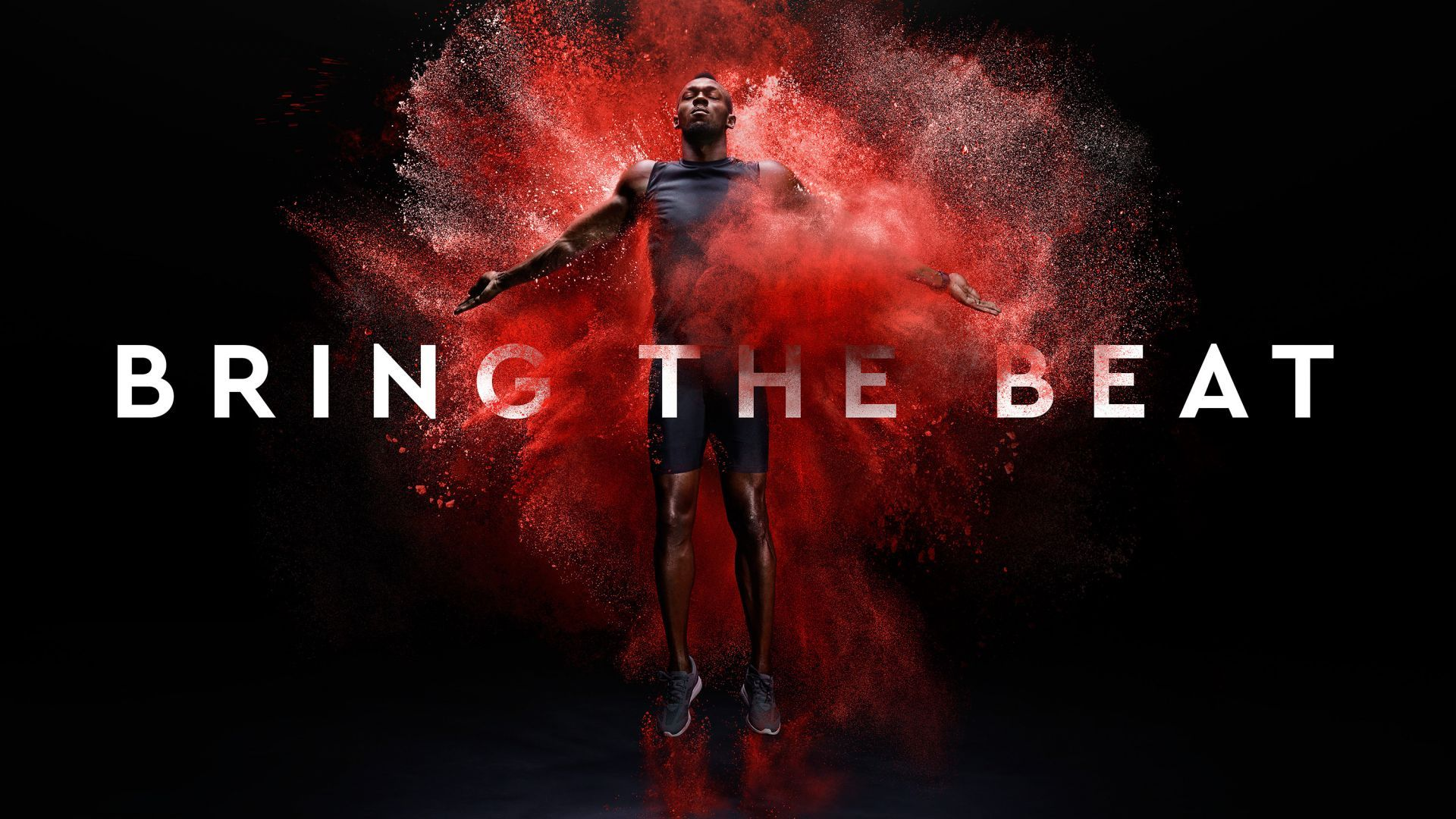 Download Wallpapers Of Usain Bolt, Bring The Beat, HD