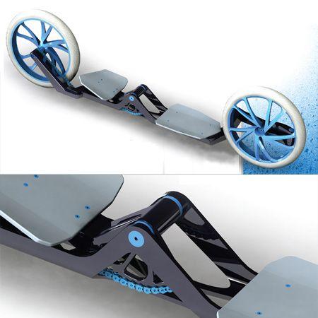 PedalBoard Skate Board Bicycle Hybrid