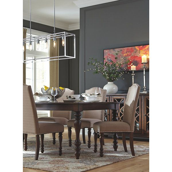 Signature Design By Ashley Merrimack 5 Piece Dining Dining