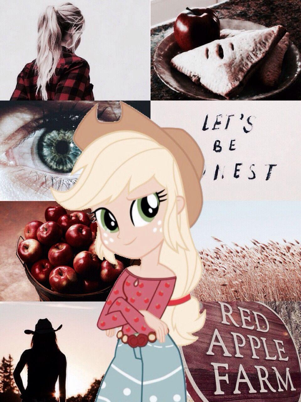 My Little Pony Equestria Girls Aesthetic Applejack My Little Pony Applejack My Little Pony Wallpaper My Little Pony Twilight