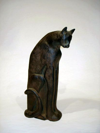 Bronze sculpture by Isabelle Abate