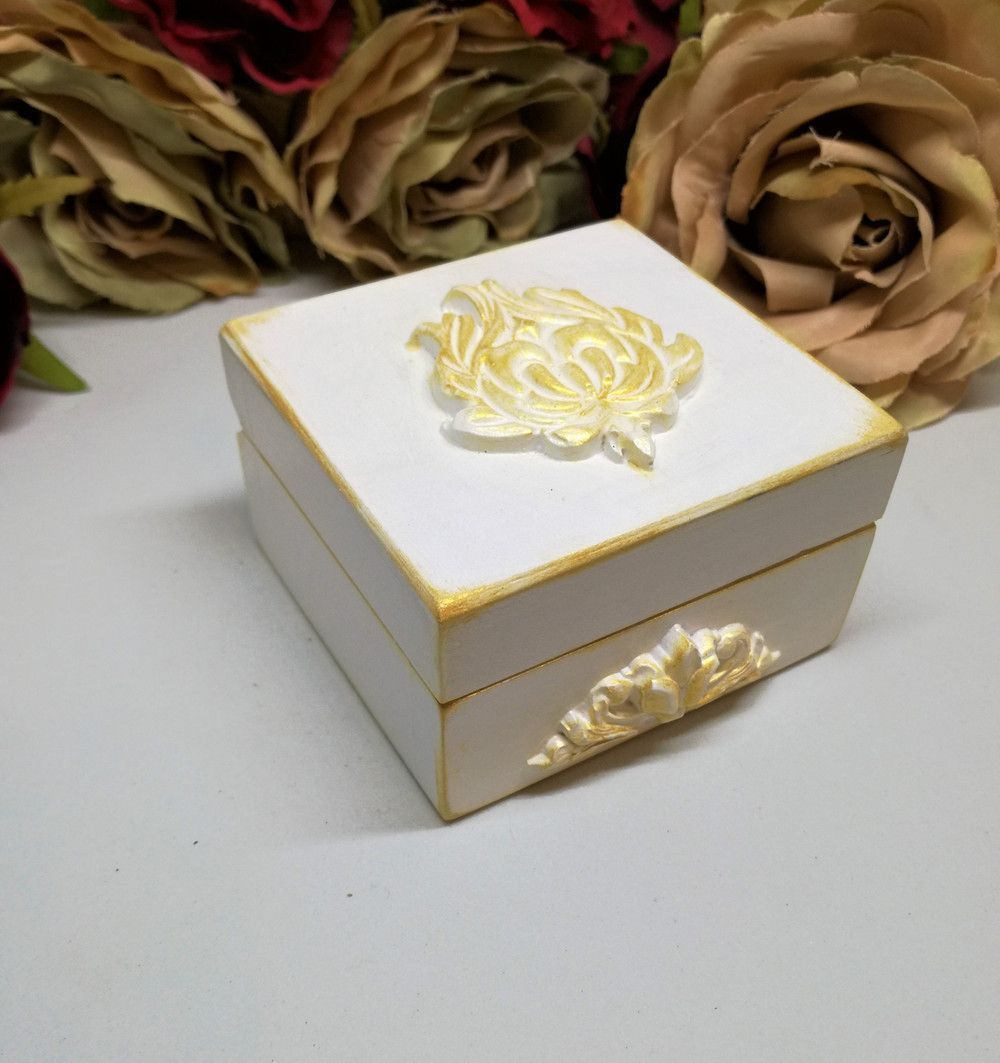 Wedding Ring Cushion – Luxury Wedding Ring Box Ring Bearer Box – a ...