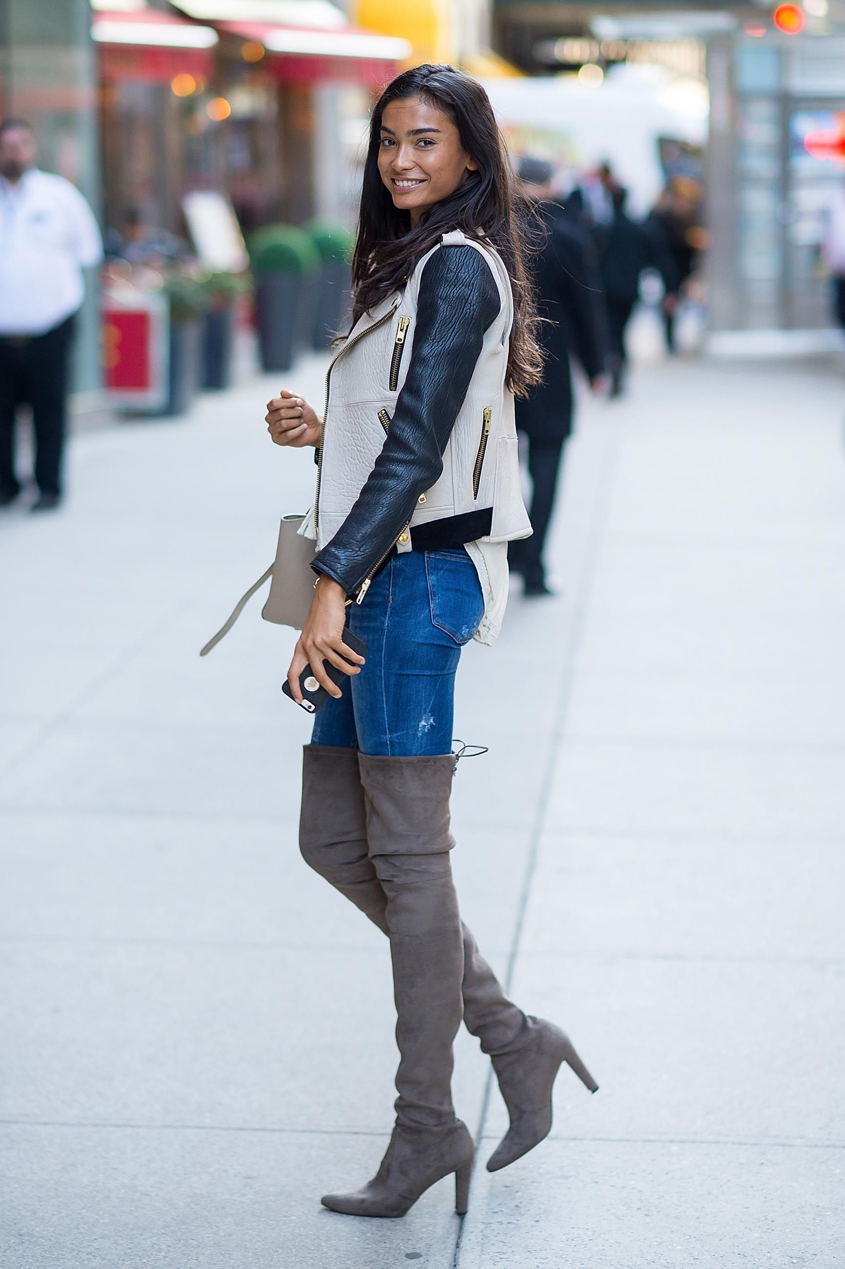 Kelly gale attends the 2016 victoria s secret fashion show model fittings boots pinterest Healing with style fashion show