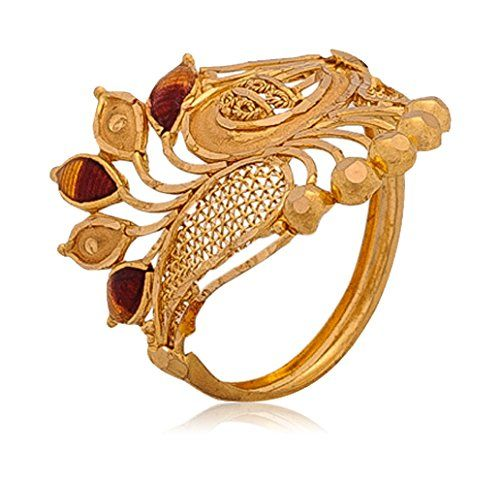 senco gold aura collection 22k yellow gold ring rings