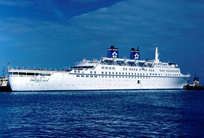 SS Emerald Seas Cruise Ship--Took A Great Cruise To Nassau In The Bahamas Several Years Ago On ...