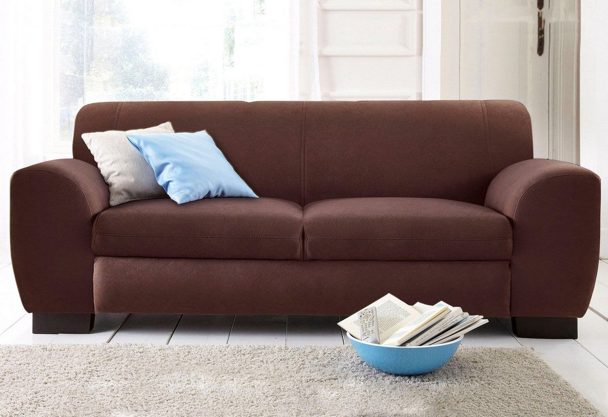 Sofa »Nika«, als 2-oder 3-Sitzer, in Microfaser PRIMABELLE ...