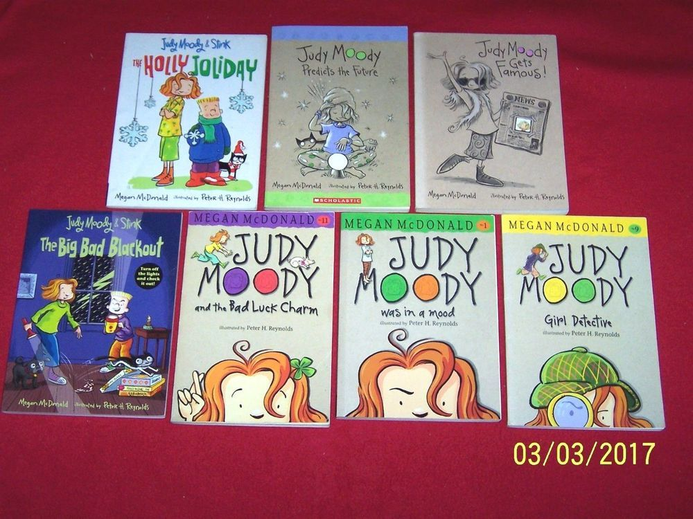 7 judy moody chapter books brother stink 1st 2nd 3rd 4th grade humor paperback children young adult books in english ebay solutioingenieria Gallery