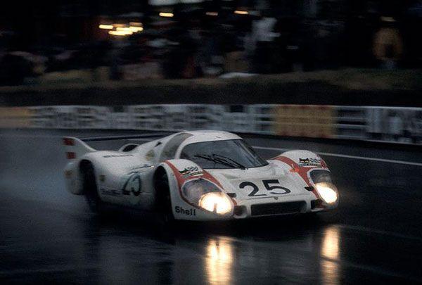 Kurt Ahrens 1092 Porsche Motorsport Lemans Racing Sports Car