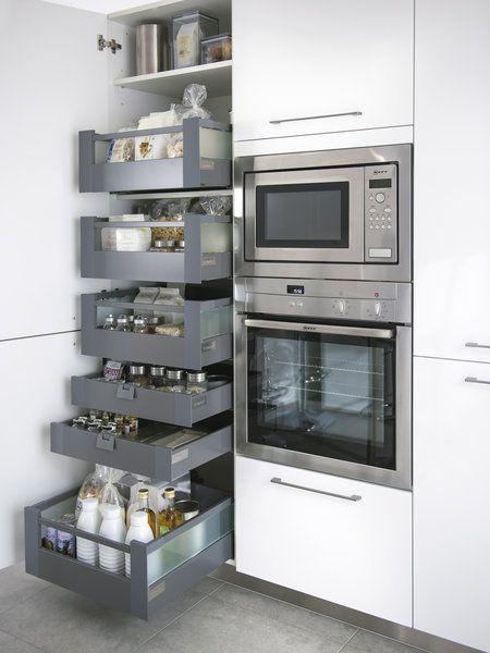 Haz que tu cocina sea más eficiente (y ahorra) | Almacén, Microondas ...