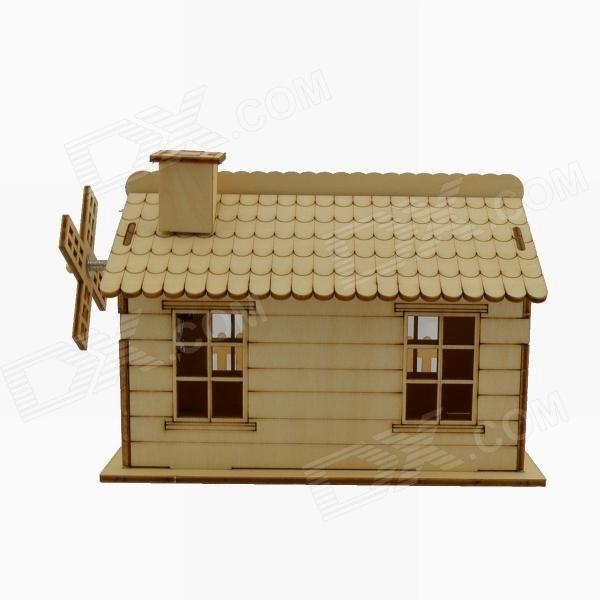 001 Woodcraft 3D montage boîte à musique bricolage maison Puzzle - bricolage a la maison