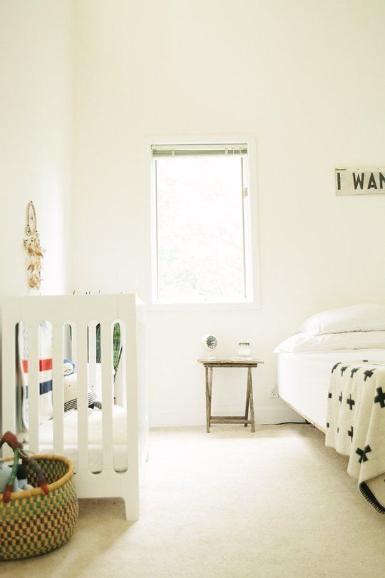 Master Bedroom Nursery Ideas nurseries in the master bedroom — small space solutions | master