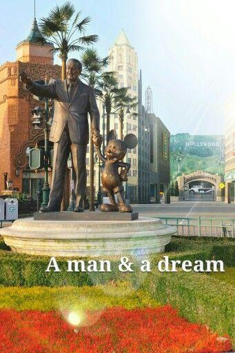Partners Statue Walt Disney Studios Park Disneyland Paris