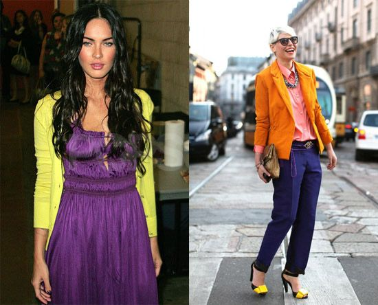 Complementary color scheme clothing are complementary - What color matches yellow ...