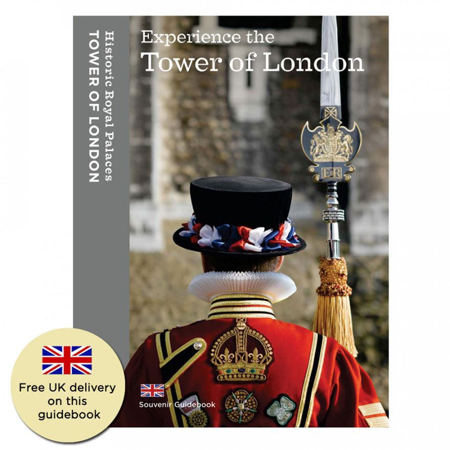 Official Tower Of London Souvenir Guidebook Uk History London