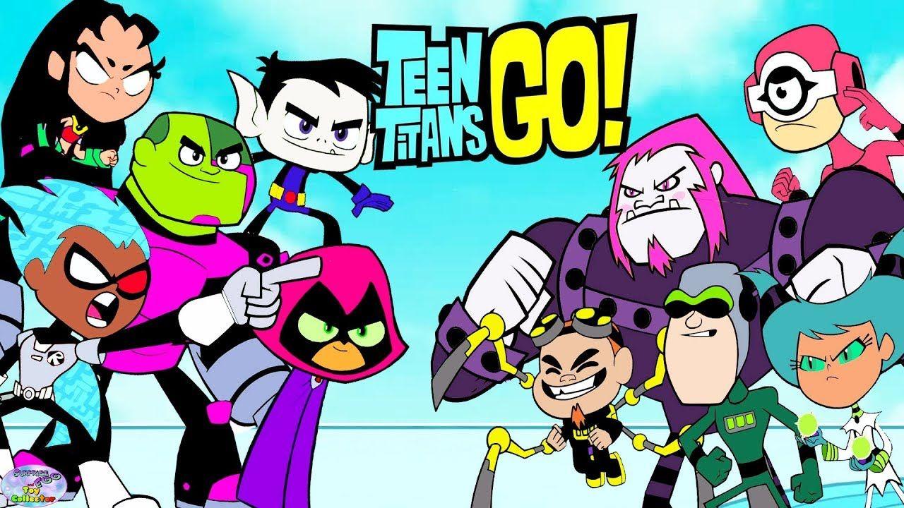 Teen titans color