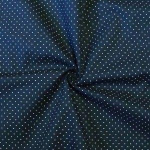 100/% Baumwolle Streifen Violet Blue Blau Meterware Hemd Bluse Baumwollstoff