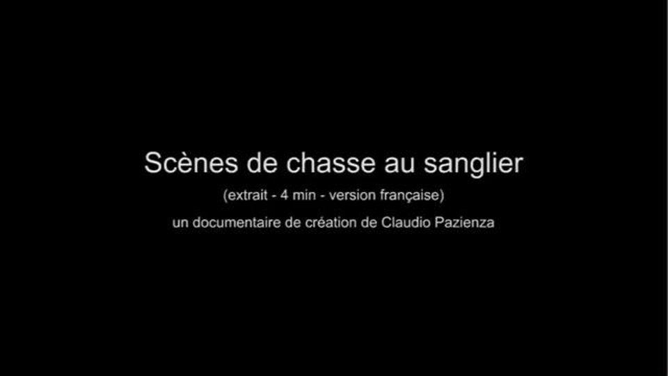 SCENES DE CHASSE AU SANGLIER - Claudio Pazienza
