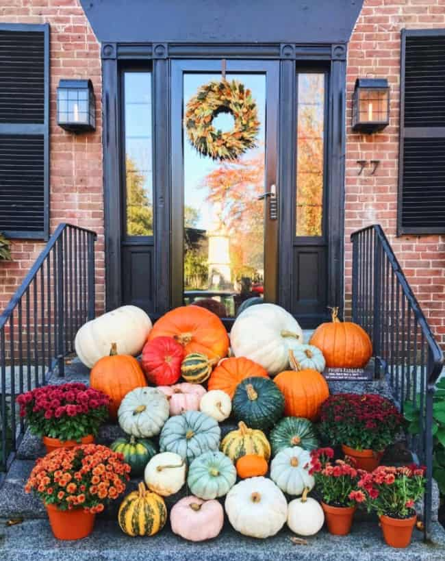 Give Them Pumpkin To Talk About National Pumpkin Day In 2020 Pumpkin Display Pumpkin Decorating Outdoor Pumpkin Decorations