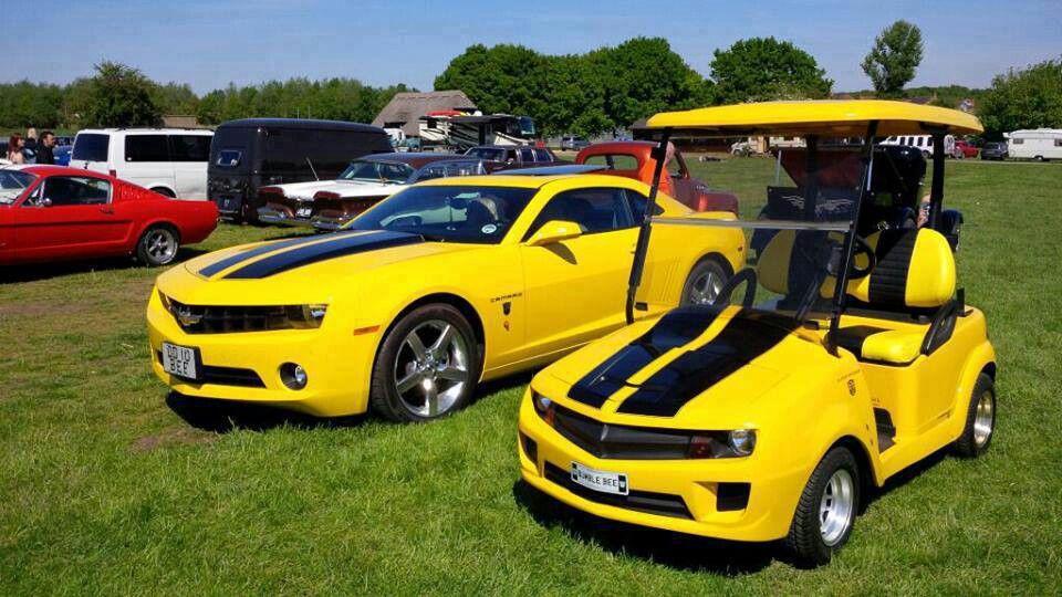 Bumblebee and Bumblebee JR. (Chevrolet Camaro ...