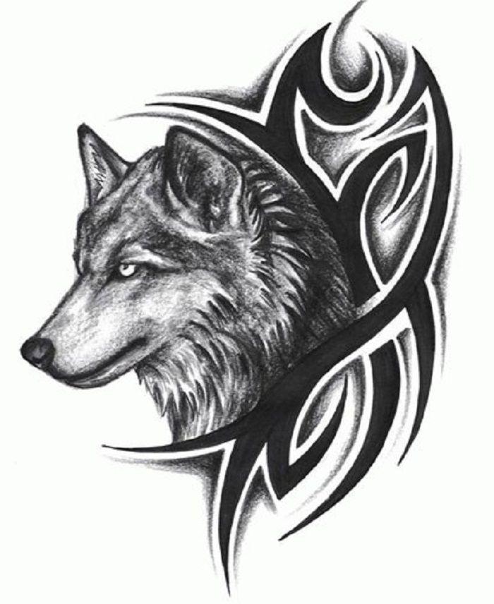 Image Result For Transparent Wolves Tribal Wolf Tattoo Tribal Wolf Wolf Tattoo Design